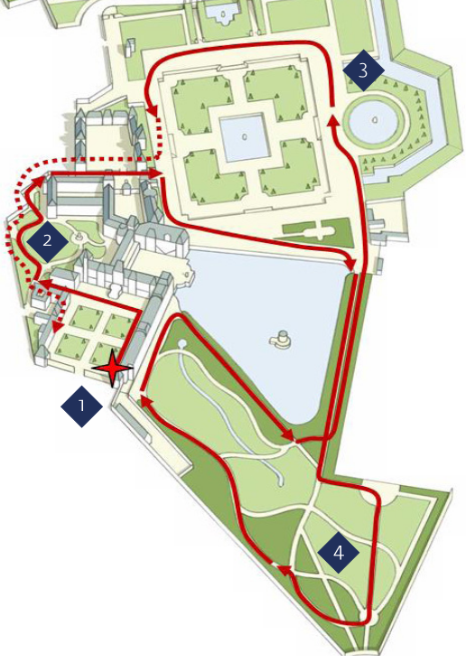 Le petit train du chateau de fontainebleau fran ais for Circuit jardins anglais